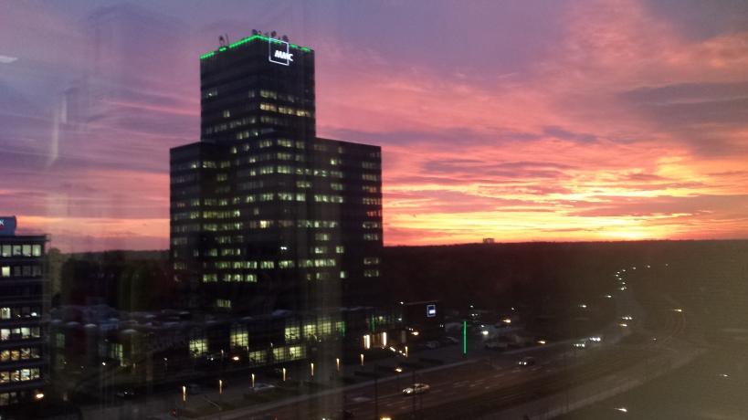 Frankfurter Sonnenuntergang