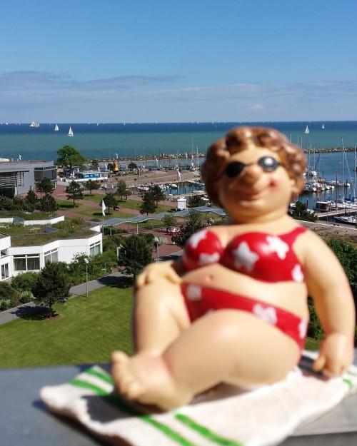 Ostseehotel Damp - Blick vom Balkon