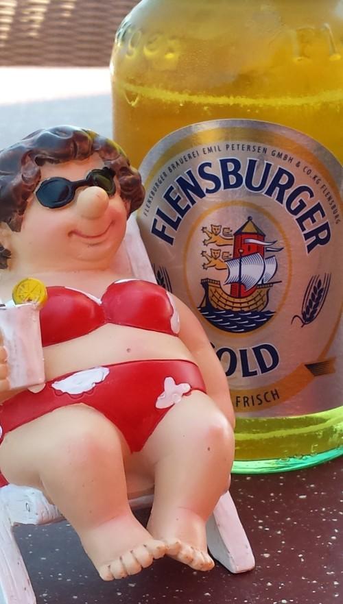 Bier an der Osatsee