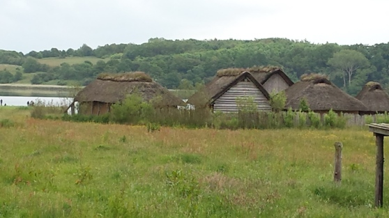 Wikingerhäuser in Haithabu