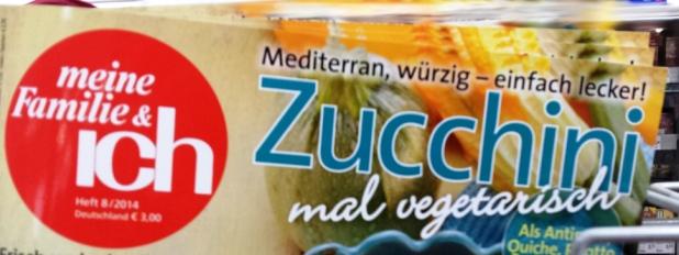 vegetarische Zucchini