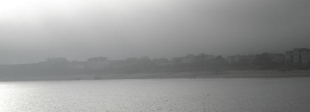 Ostseeküste im Nebel