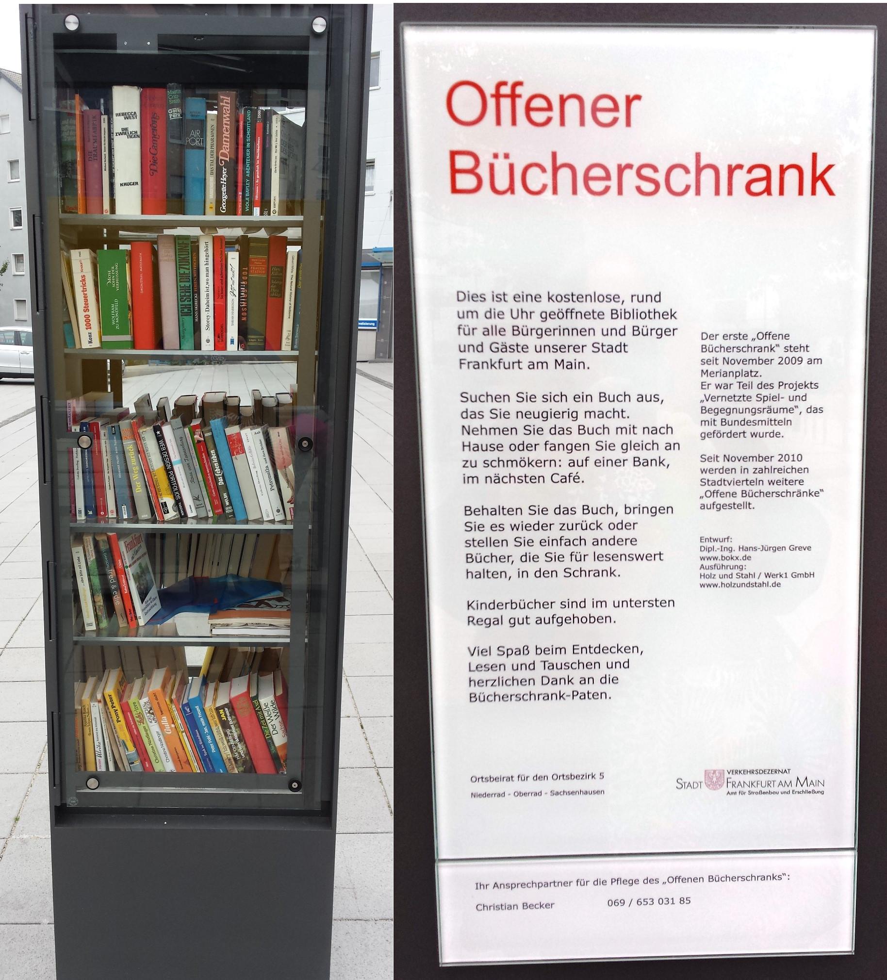 Bücherschränke – Meikes bunte Welt