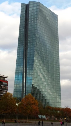 Europäische Zentralbank EZB Gebäude