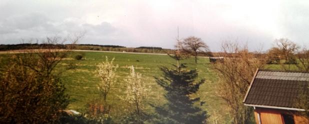 Blick über Wiesen in Rastede