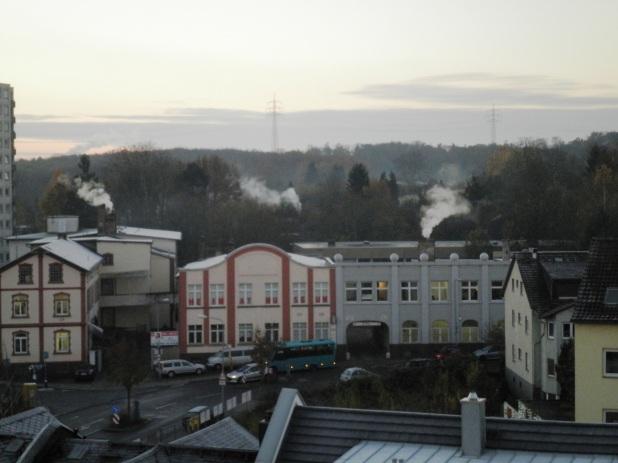 Blick über Frankurt-Oberrad