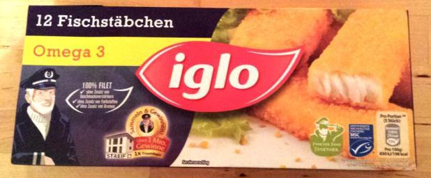 Iglo Fischstäbchen 12 Stück