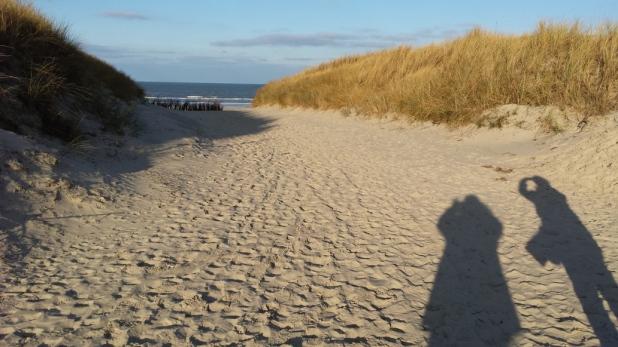 Juist Strand Dezember 2014