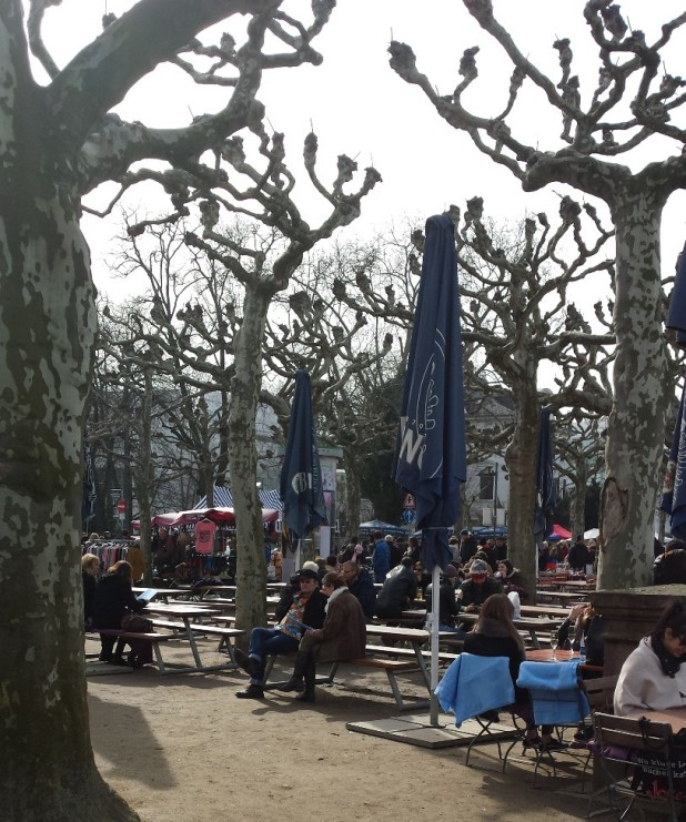 Frankfurt Main Flohmarkt
