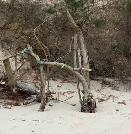 Strandkunstwerk