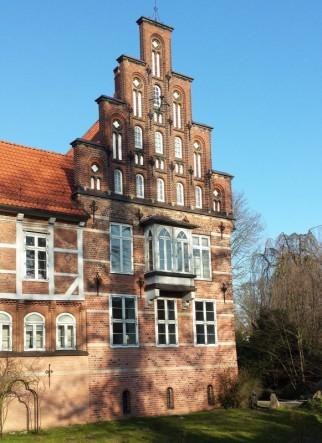 Schloss Bergedorf Seitenansicht