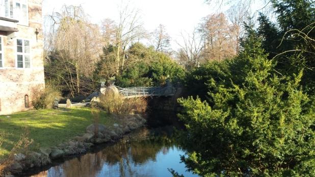 Schloss Bergedorf Brücke