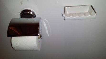 Aschenbecher Toilette