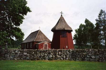 Kirche, Holzkirche, Schweden