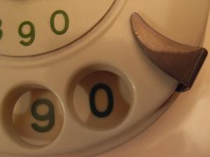 Wählscheibe, Telefon, Wählscheibentelefon