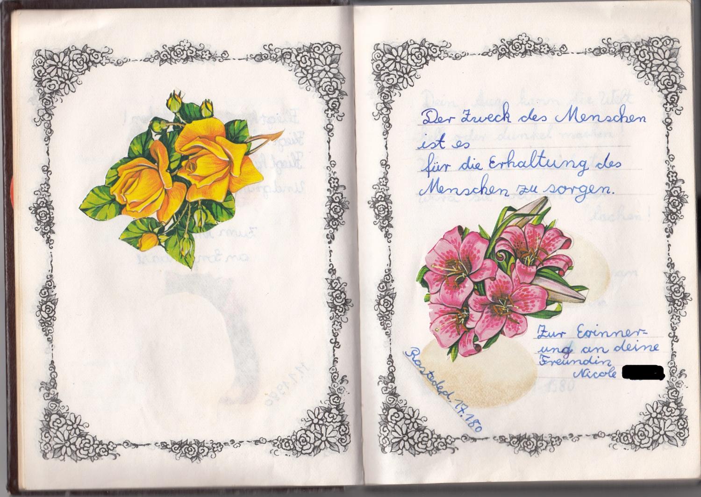 aus dem poesiealbum | meikes bunte welt