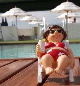 Pool, Cocktail am Pool