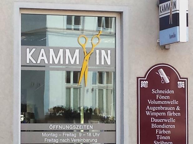 Frisör Kamm in