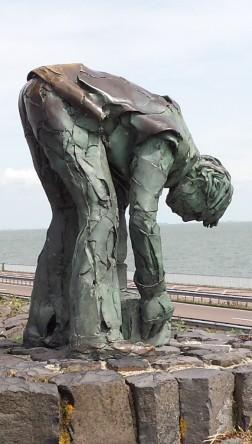 Abschlussdeich Holland Denkmal
