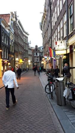 Abendliches Amsterdam