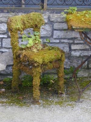 Grüner Stuhl Meikes Bunte Welt