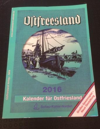 Kalender für Ostfriesland