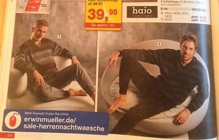 Männerschlafanzüge