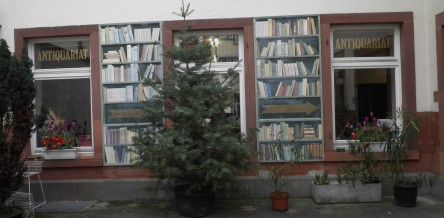 Buchhandlung Schutt, Innenhof