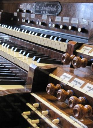 Orgel Details