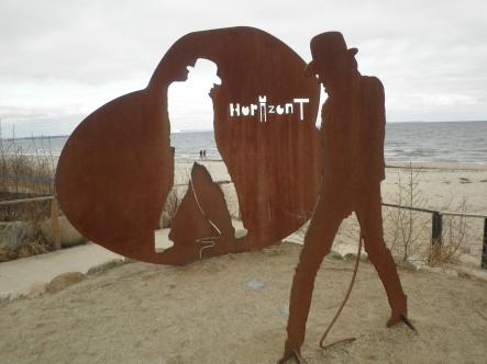 Kunstobjekt Udo Lindenberg Horizont