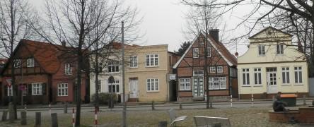 alte Häuser in Travemünde