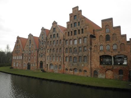 Alte Häuser in Lübeck