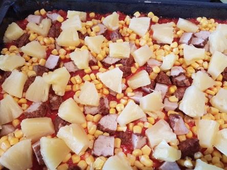 Blechpizza, Pizza selbst gemacht