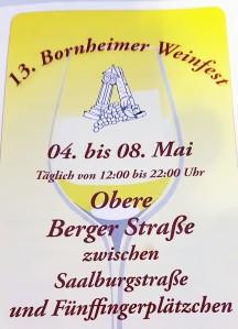 Flyer Weinfest