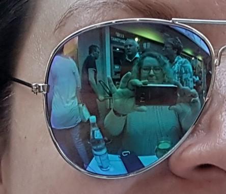Selfie in Sonnenbrile