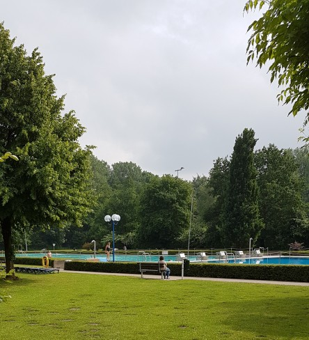 Freibad Rastede, Schwimmerbecken