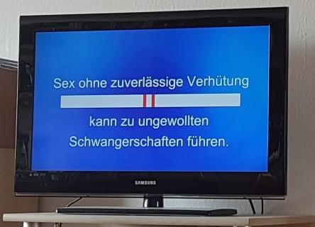 Durex Werbung, Kondome, ungewollte Schwangerschaft