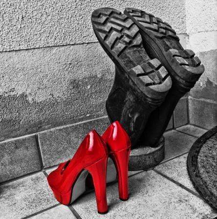 Schuhe, Pumps, Stiefel