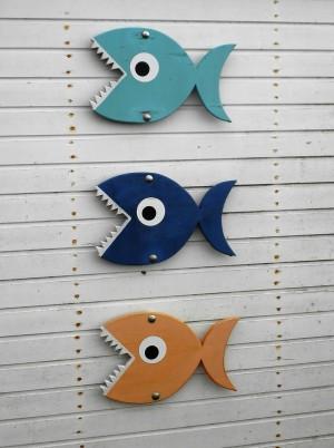 Fische, Zähne
