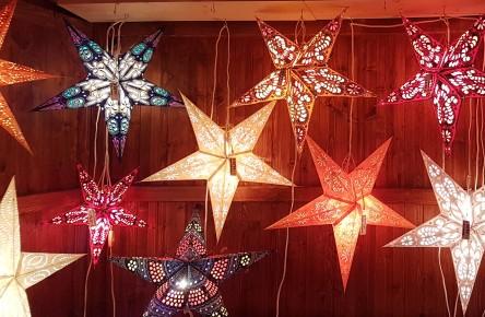 Leuchtende Sterne