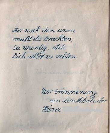 Spruch, Poesiealbum, Selbstachtung