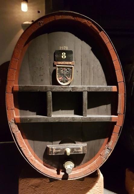Weinfass, Sektkellerei Henkell