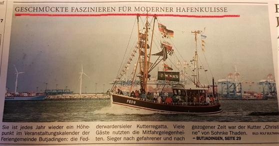 Titel Nordwest-Zeitung 31.07.2017