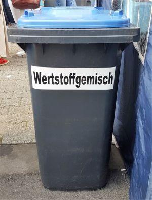 Mülltonne, Wertstofftonne