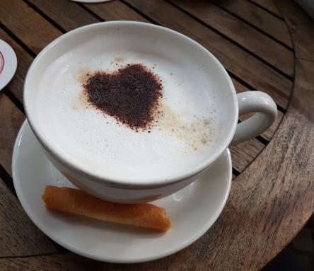 Kaffee, Milchkaffee, Hippe, Hohlhippe