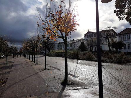 Promenade auf Usedom, bei Ahlbeck