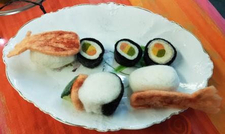 gefilztes Sushi