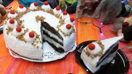 gefilzte Torte