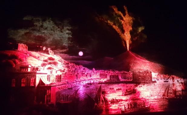 Schirn, Diorama, Vesuv