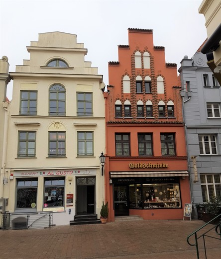 Wismar, am Markt